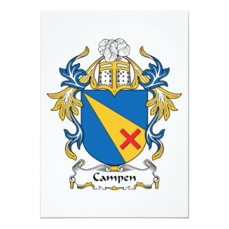 Campen Family Crest Announcement