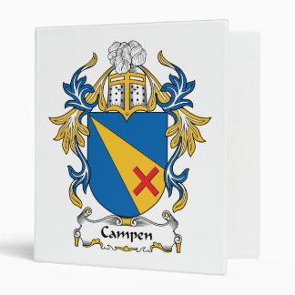 Campen Family Crest Binders