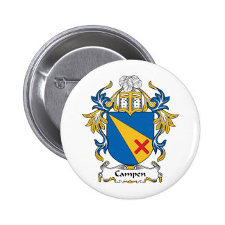 Campen Family Crest Pin