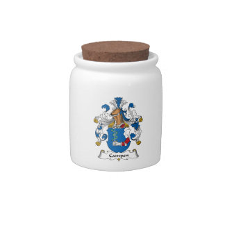 Campen Family Crest Candy Dish