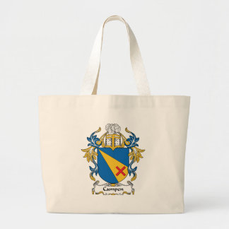 Campen Family Crest Canvas Bags