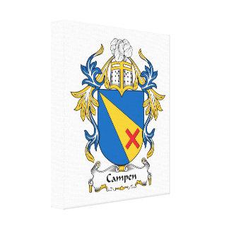 Campen Family Crest Canvas Print