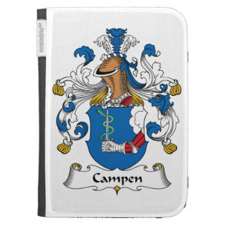 Campen Family Crest Kindle 3 Cases