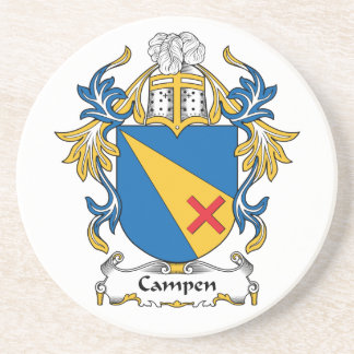 Campen Family Crest Coasters