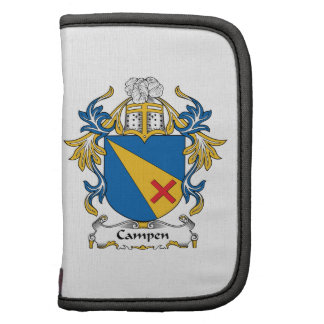 Campen Family Crest Folio Planners