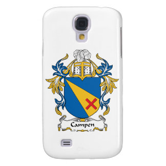 Campen Family Crest Galaxy S4 Cover