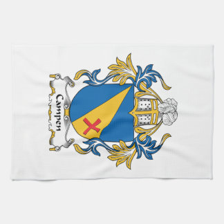 Campen Family Crest Hand Towels