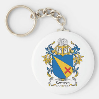 Campen Family Crest Keychain