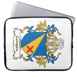 Campen Family Crest Computer Sleeves