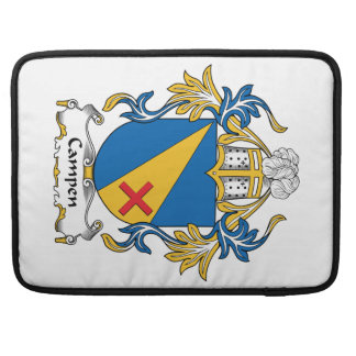 Campen Family Crest Sleeve For MacBook Pro