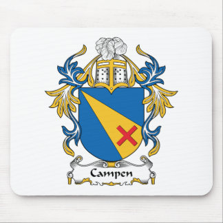 Campen Family Crest Mouse Mats