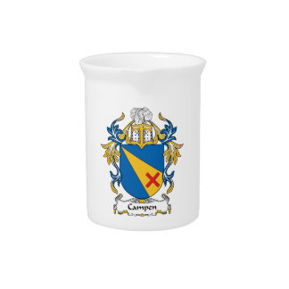 Campen Family Crest Pitcher