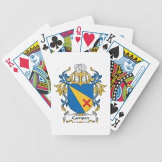 Campen Family Crest Poker Deck