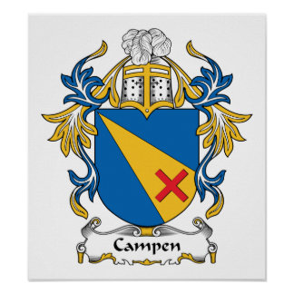 Campen Family Crest Print