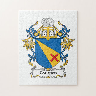 Campen Family Crest Jigsaw Puzzle