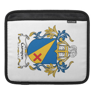 Campen Family Crest Sleeve For iPads