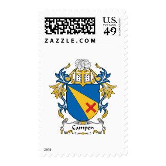 Campen Family Crest Stamp