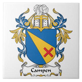 Campen Family Crest Tile