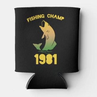 Campeón 1981 de la pesca enfriador de latas