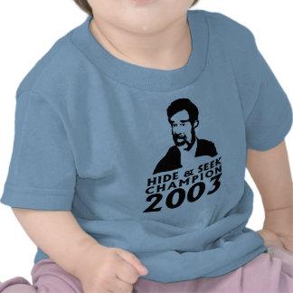 Campeón 2003 del escondite camisetas