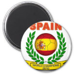 Campeón 2010 del mundo de España Imán De Frigorífico