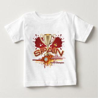 Campeón 2010 del mundo de España para siempre Remera