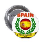 Campeón 2010 del mundo de España Pin