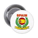Campeón 2010 del mundo de España Pins