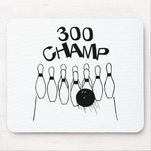 Campeón 300 mousepad