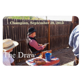 Campeón 9-28-13 - Gunslingers de Arizona Imán De Vinilo
