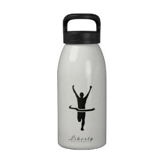 Campeón corriente botella de agua reutilizable