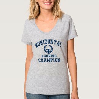 campeón corriente horizontal playeras