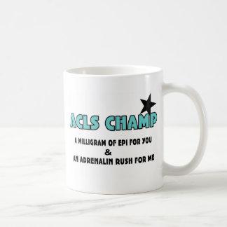 Campeón de ACLS Taza