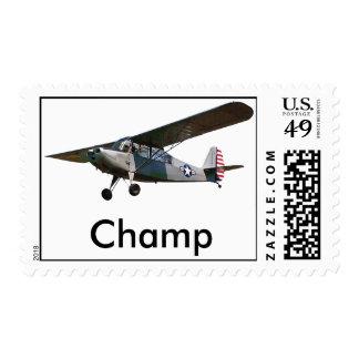 Campeón de Aeronca 7 Timbres Postales
