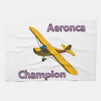 Campeón de Aeronca Toallas De Cocina