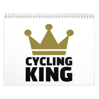 Campeón de ciclo del rey calendario de pared