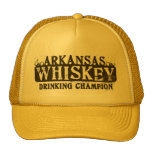Campeón de consumición del whisky de Arkansas Gorras