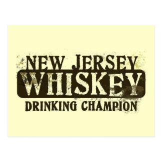 Campeón de consumición del whisky de New Jersey Postal