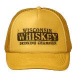 Campeón de consumición del whisky de Wisconsin Gorro