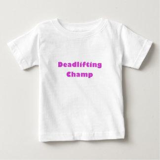 Campeón de Deadlifting Remera
