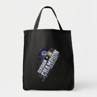 Campeón de división bolsa tela para la compra