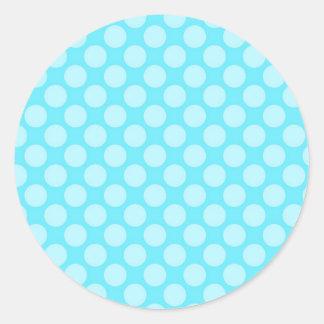 Campeón de electrificación tranquilo burbujeante pegatina redonda