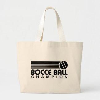 Campeón de la bola de Bocce Bolsa Lienzo