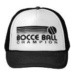 Campeón de la bola de Bocce Gorros