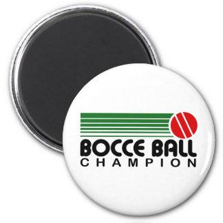 Campeón de la bola de Bocce Imán Redondo 5 Cm