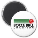 Campeón de la bola de Bocce Imanes De Nevera