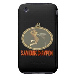Campeón de la clavada carcasa resistente para iPhone