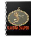 Campeón de la clavada cuaderno
