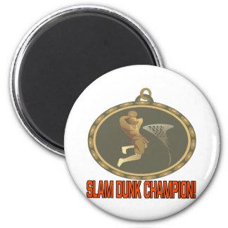 Campeón de la clavada imán redondo 5 cm