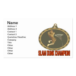 Campeón de la clavada tarjetas de visita